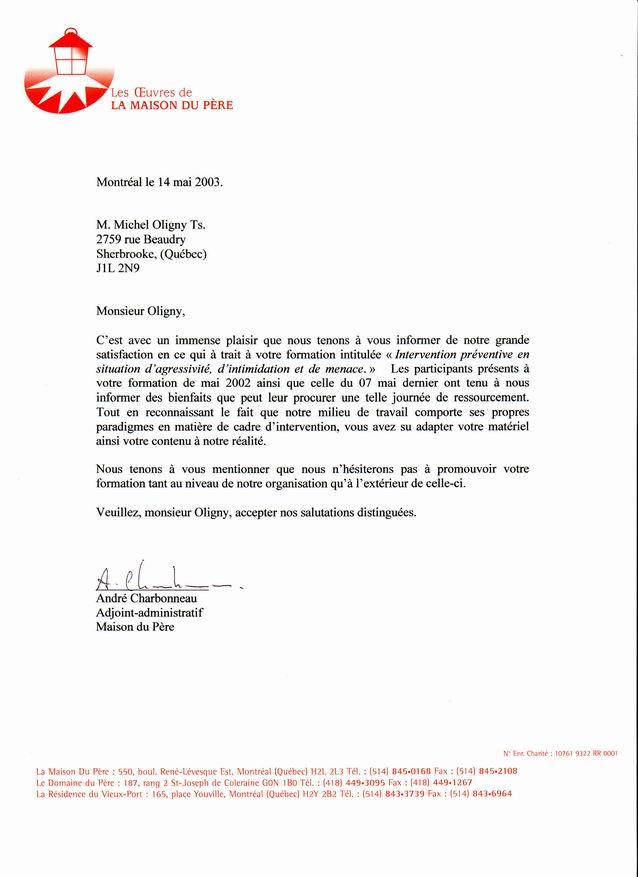 Lettre administrative en anglais lettre de condoléances gratuites